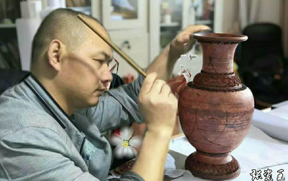 景德镇陶瓷艺术家---张建群