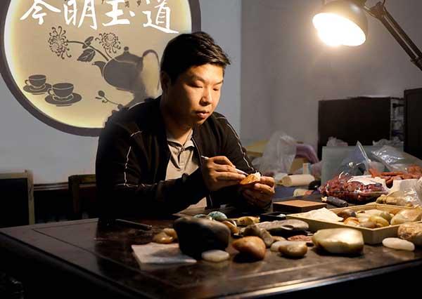 玉雕艺术家-靳明