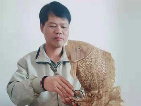 木艺人生之惠安木雕设计师陈志彬