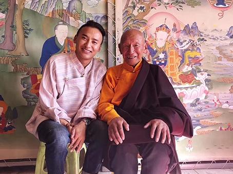 国家级非遗大师 【达泽多吉】讲解西藏唐卡五大画派
